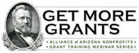 ALLIANCE WEBINAR- Quick-Start Guide to the One-Page Grant Proposal (Spring 2018)