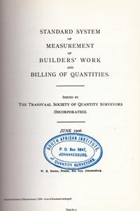 1906 Standard System
