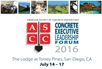 2016 Concrete Executive Leadership Forum