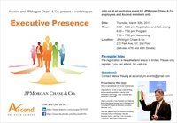 Ascend NY Metro: Executive Presence Workshop
