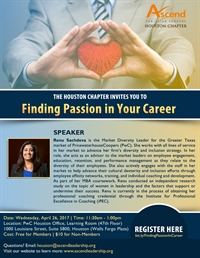 Ascend Houston: Finding Passion In Your Career