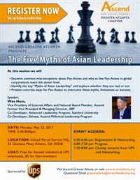 Ascend ATL: The Five Myths of Asian Leadership