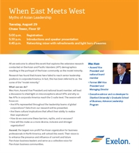 Ascend Midwest: When East Meets West: Myths of Asian Leadership