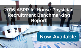 Download ASPR In-House Physician Recruitment Benchmarking Report Executive Summary