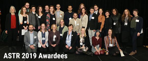 2019 Awardees