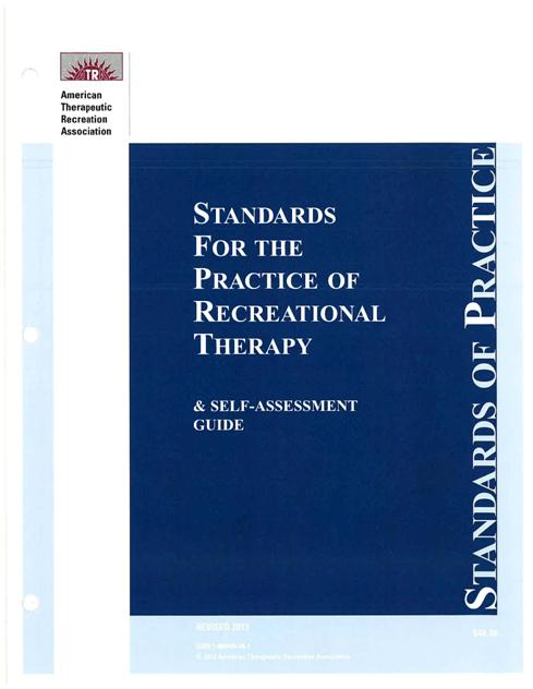 Standards of Practice - American Therapeutic Recreation Association