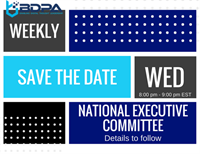 BDPA FUTURE 2018 - NATIONAL EXECUTIVE COMMITTEE - WEEKLY MEETING