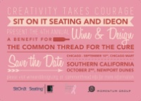 Wine + Design Benefit for The Common Thread For The Cure
