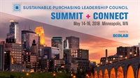 Sustainable Purchasing Leadership Council Summit