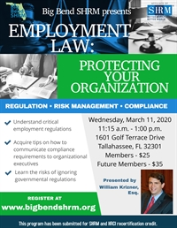 Employment Law: Protecting Your Organization