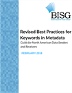 Revised Best Practices for Keywords in Metadata