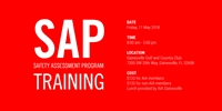 Safety Assessment Program (SAP) Training