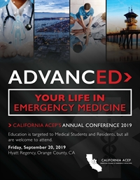 AdvancED 2019: California ACEP Annual Conference