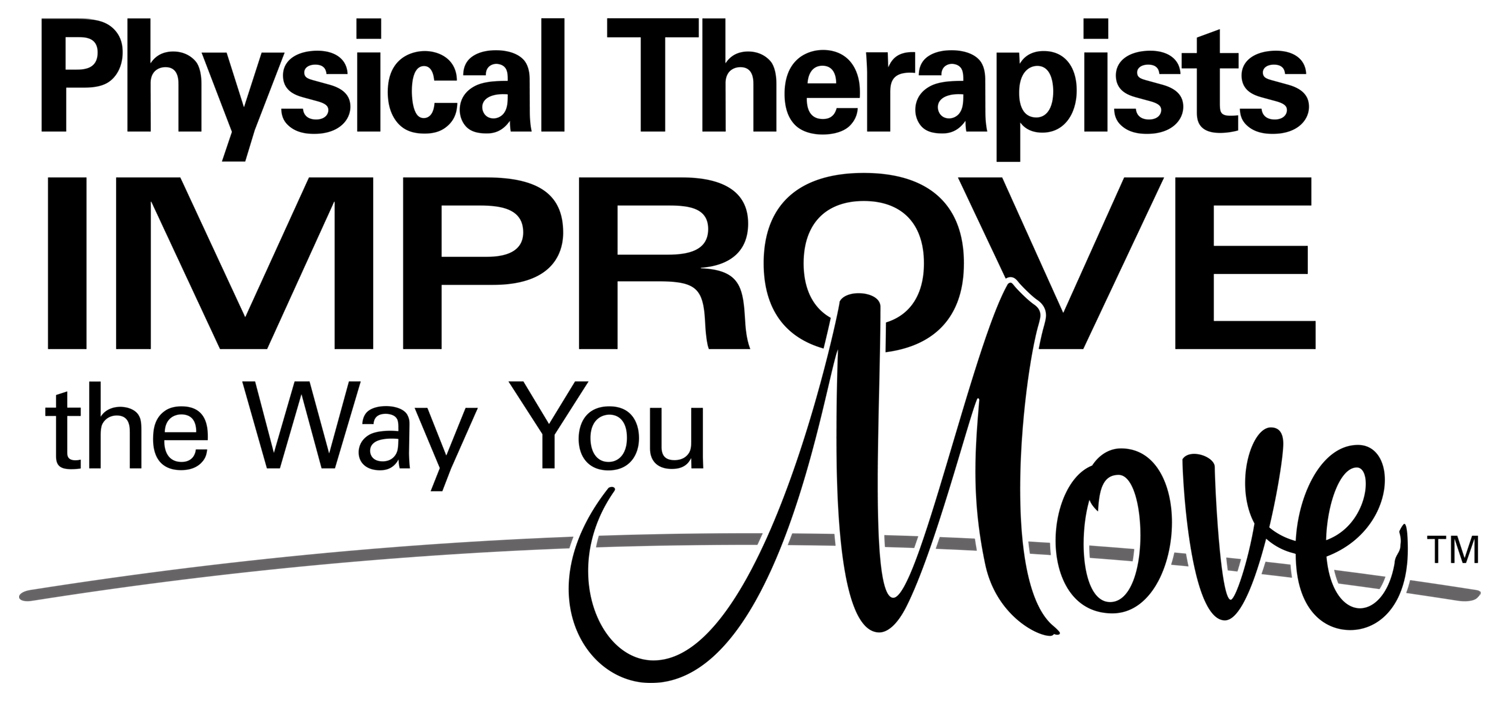 Direct access in physical therapy - Physical Therapists Improve The Way You Move Logo Black Jpg