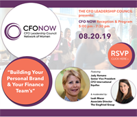 Building Your Personal Brand and Your Finance Team's - Atlanta CFOLC NOW Event