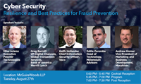 Cyber Security:  Resilience and Best Practices for Fraud Prevention by The Charlotte CFOLC