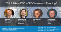 Think Like a CEO – CFO Succession Planning by The Charlotte CFOLC