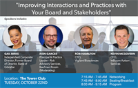 Improving Interactions with Your Board and Stakeholders by The South Florida CFOLC