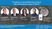 Creating an Award-Winning Culture with Gen Gaps and Workplace in Mind by The Atlanta CFOLC