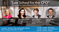Law School for the CFO by The Jacksonville CFO Leadership Council