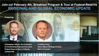 Economic Update by the Federal Reserve Bank of Atlanta by The Jacksonville CFOLC