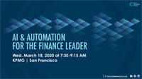 AI & Automation for Finance Leaders by the San Francisco CFO Leadership Council