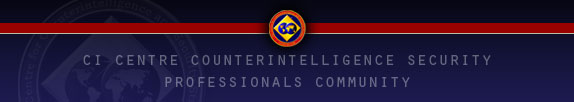 CI Centre Counterintelligence Security Professionals Community