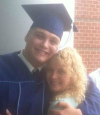 Picture of Alex and Susan at Graduation