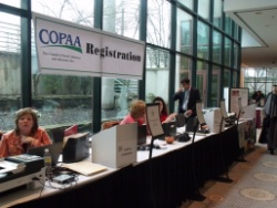 COPAA Registration Counter
