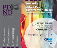 PDND Series - Toward a 2SLGBTQI+-positive workplace: Legal obligations and best practices