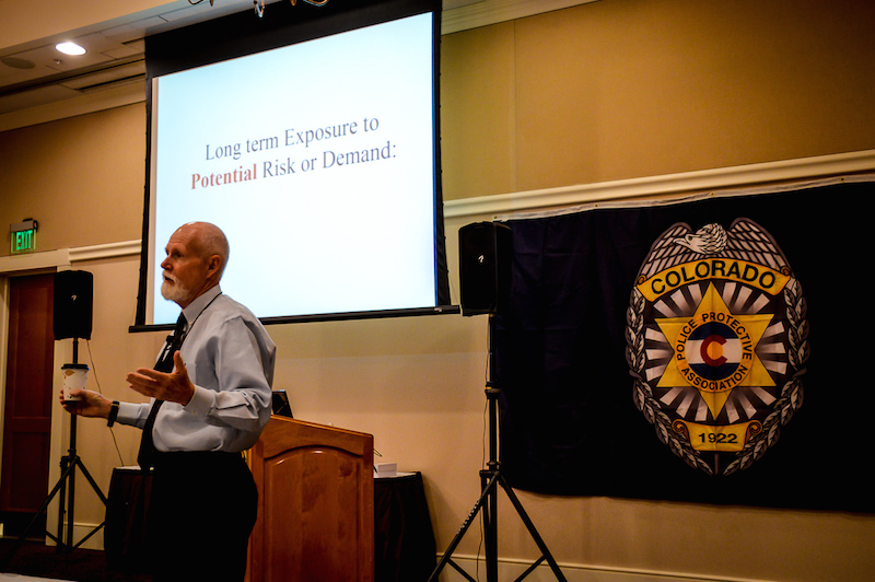 emotional survival for law enforcement John thompson shares this to the attendees as he discusses emotional intelligence for law enforcement  intelligence for law enforcement: a hidden key for survival.