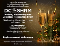 Holiday Networking & Volunteer Recognition Event