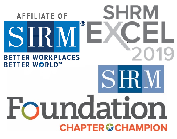 Affiliate of SHRM, Better Workplaces, Better World - SHRM Excel Award 2018 - SHRM Foundation Chapter Champion