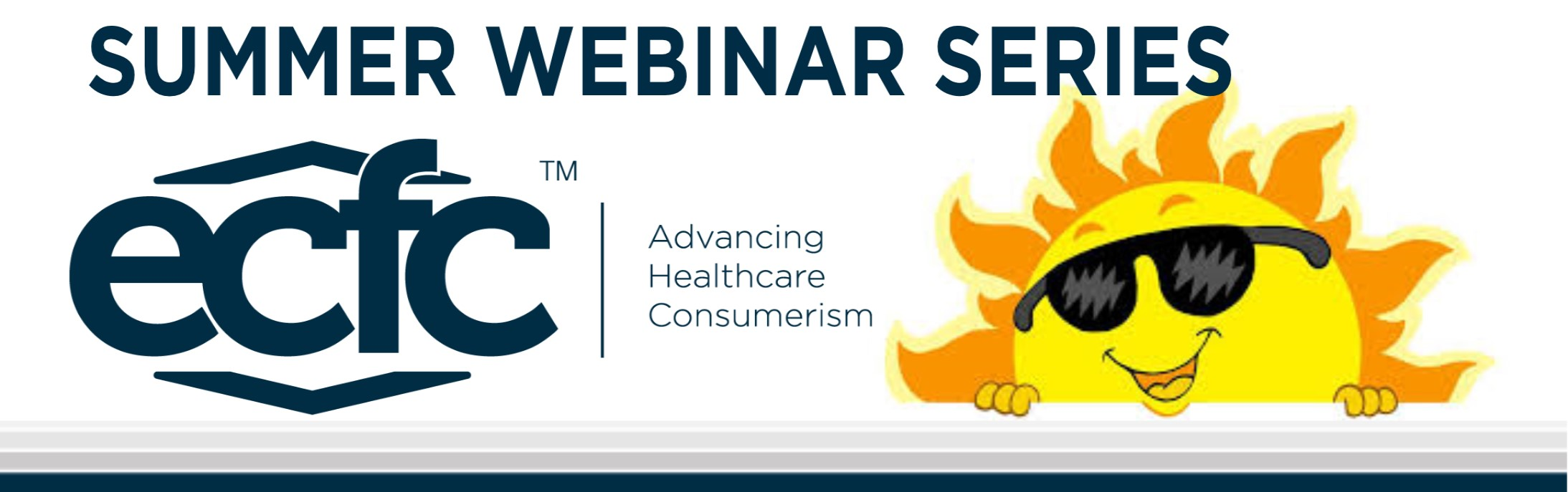 ECFC Summer Webinar Series Graphic