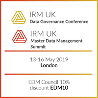 Master Data Management Summit & Data Governance Conference - Europe 2019