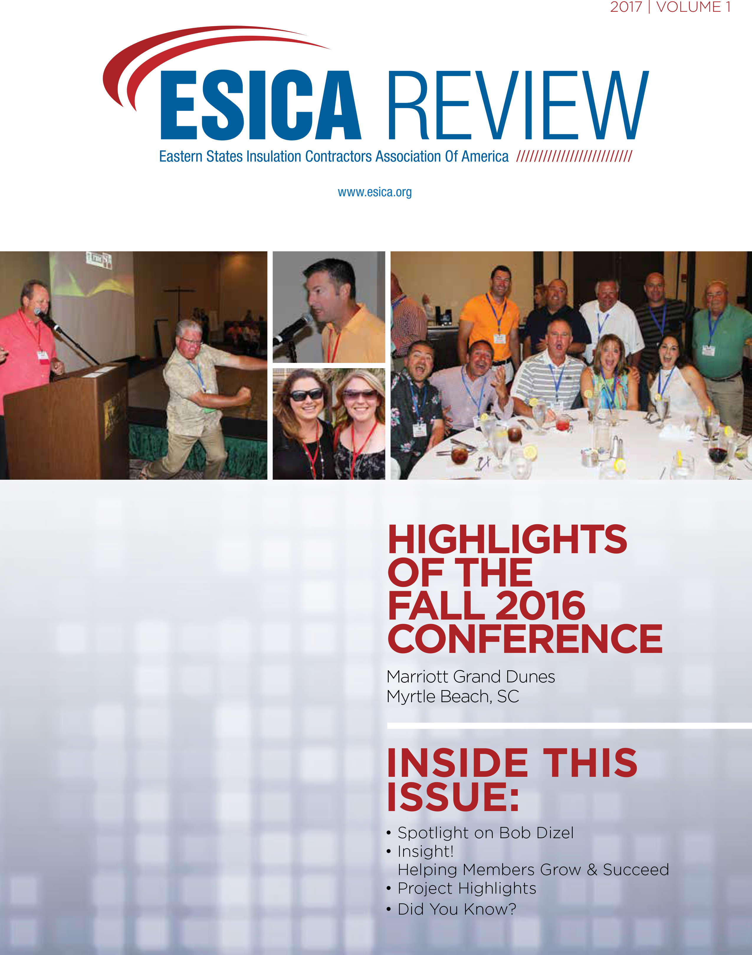 ESICA Review 2017 Volume 1