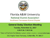 General Body/ Elections Meeting