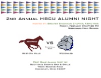2nd Annual HBCU Alumni NIght