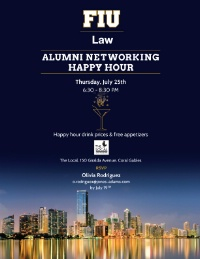 Alumni Newtorking Happy Hour
