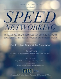 Alumni - Student Speed Networking