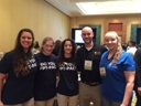 UCF student participants & volunteers at the 2015 FPTA Annual Conference in Orlando.