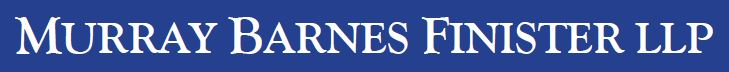 Murray Barnes Finister LLP Logo