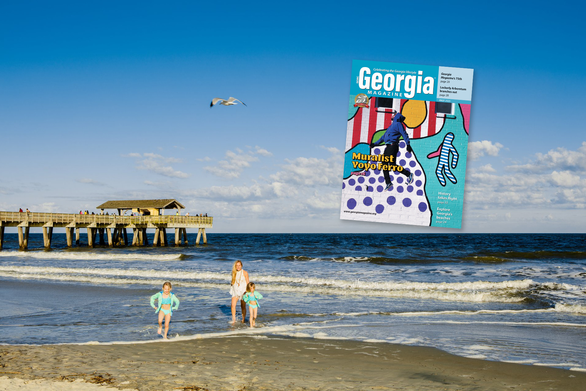Check out July's Georgia Magazine