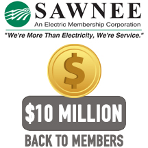 Sawnee EMC board approves $10 M retirement of patronage capital