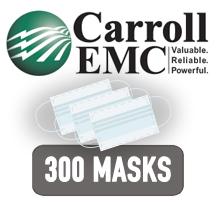 Carroll EMC donates 300 medical masks