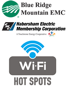 Blue Ridge Mountain EMC, Habersham EMC Deploy Free Wi-Fi Hot Spots