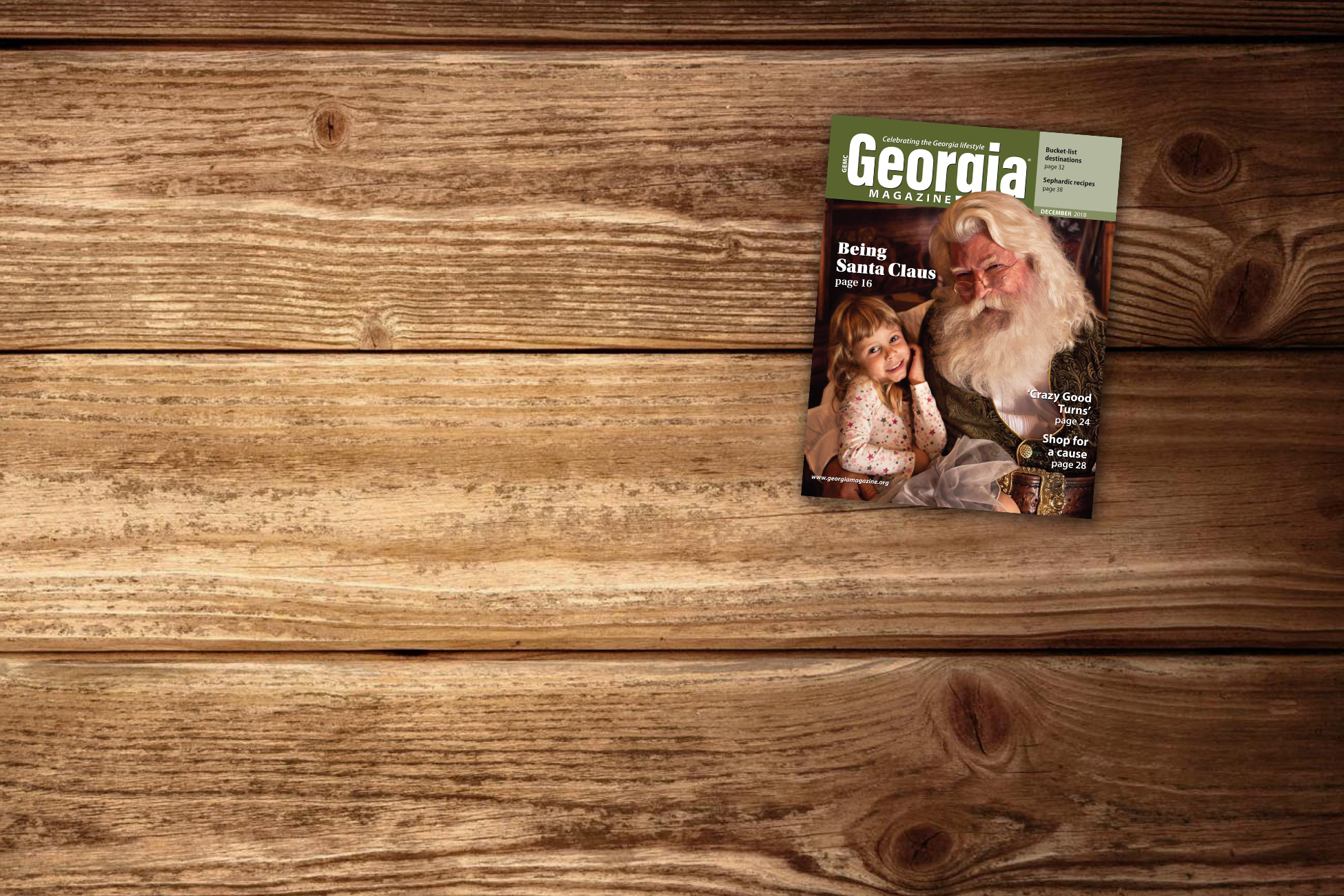 Check out December's Georgia Magazine