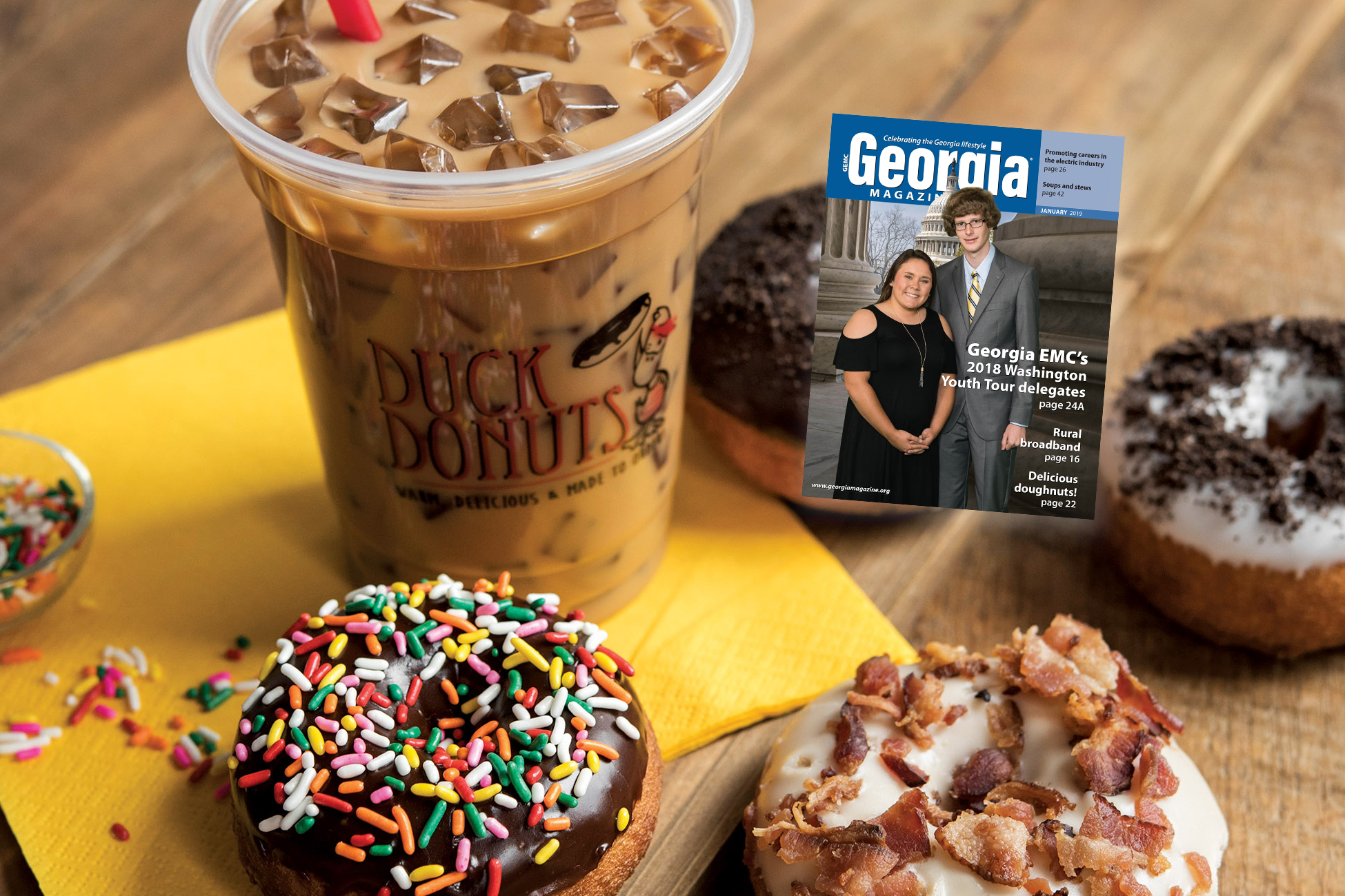 Check out January's Georgia Magazine