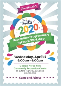 Recreation Programmers Network Workshop