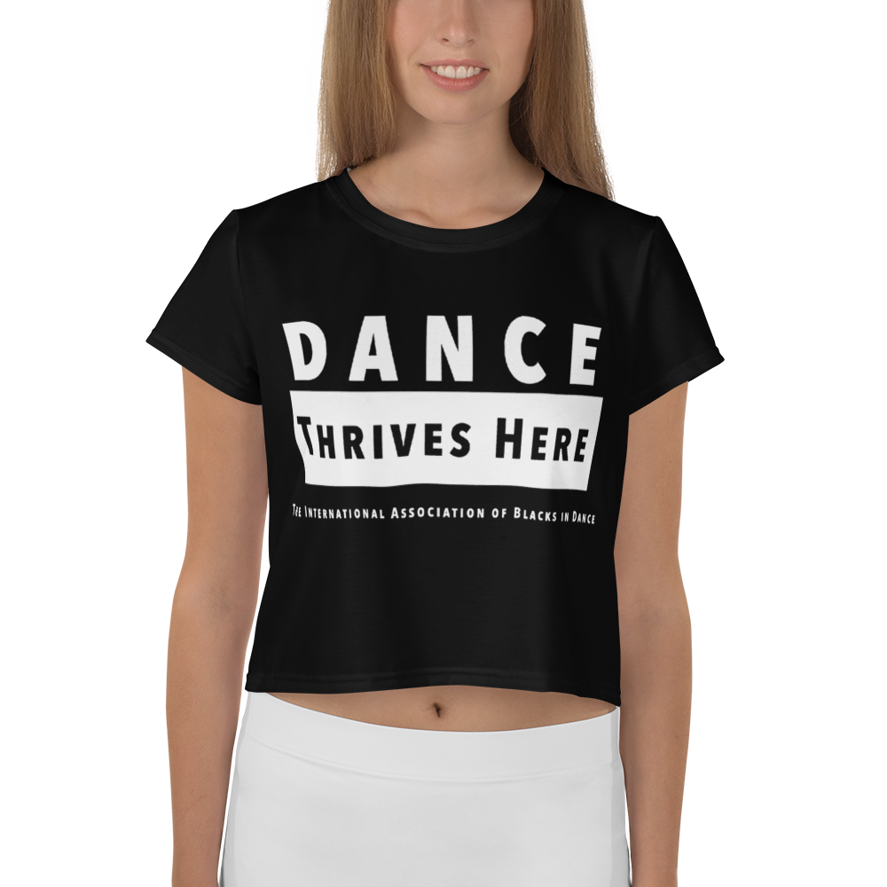 Dance Thrives Here Crop Top